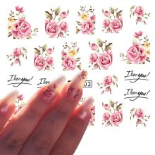 Roses Nail Stickers