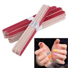 Set Wood Sandpaper Nail Files